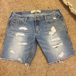 Pants - Jean shorts hollister